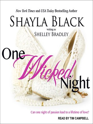 cover image of One Wicked Night