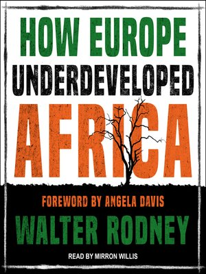 cover image of How Europe Underdeveloped Africa