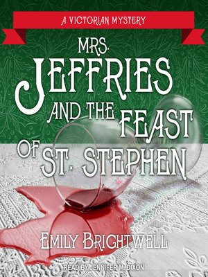 cover image of Mrs. Jeffries and the Feast of St. Stephen
