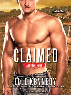 cover image of Claimed--An Outlaws Novel