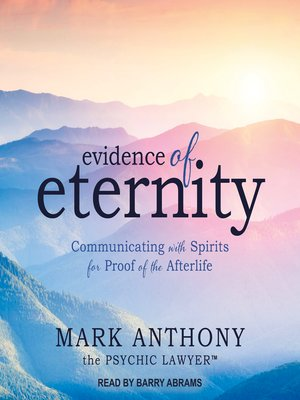 cover image of Evidence of Eternity