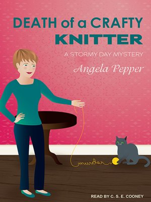 cover image of Death of a Crafty Knitter