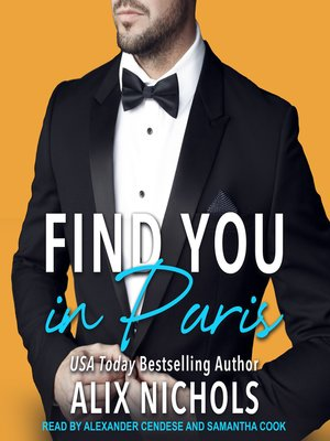 cover image of Find You in Paris