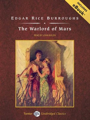 cover image of The Warlord of Mars