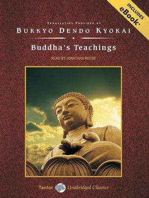 cover image of Buddha's Teachings