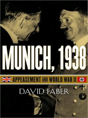 cover image of Munich, 1938