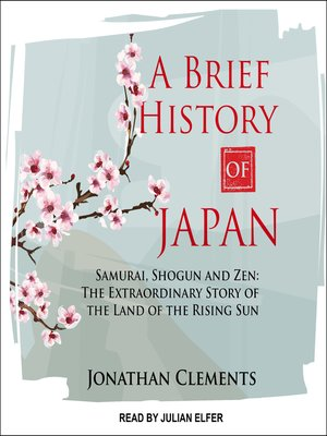 cover image of A Brief History of Japan