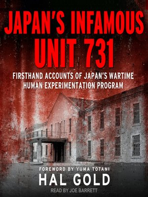 cover image of Japan's Infamous Unit 731