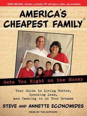 cover image of America's Cheapest Family Gets You Right on the Money