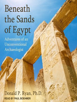 cover image of Beneath the Sands of Egypt