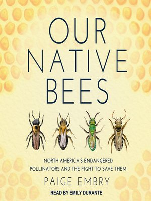 cover image of Our Native Bees