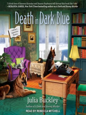 cover image of Death in Dark Blue