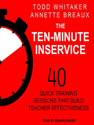 cover image of The Ten-Minute Inservice