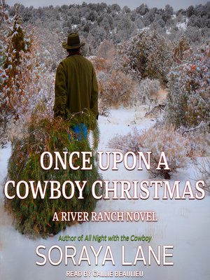 cover image of Once Upon a Cowboy Christmas