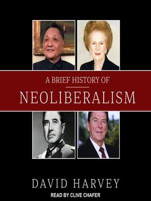 cover image of A Brief History of Neoliberalism