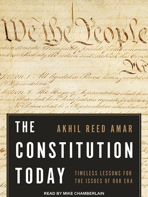 cover image of The Constitution Today