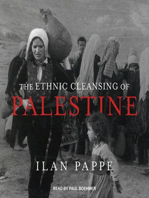 cover image of The Ethnic Cleansing of Palestine