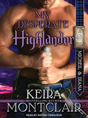 cover image of My Desperate Highlander