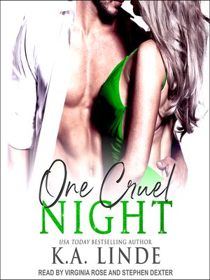 cover image of One Cruel Night--A Cruel Series Prequel