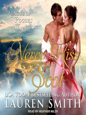cover image of Never Kiss a Scot