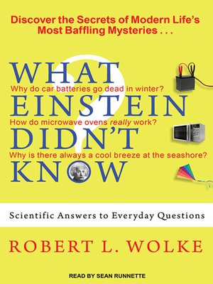 cover image of What Einstein Didn't Know