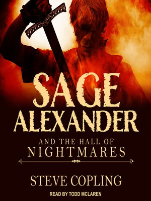 cover image of Sage Alexander and the Hall of Nightmares