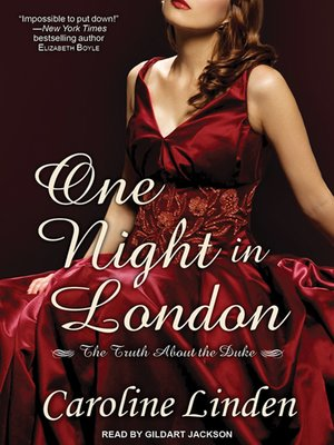 cover image of One Night in London