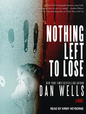 cover image of Nothing Left to Lose