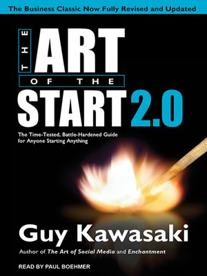 cover image of The Art of the Start 2.0