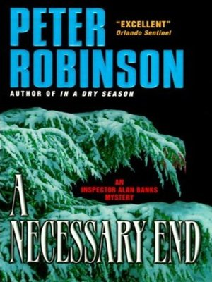 cover image of A Necessary End