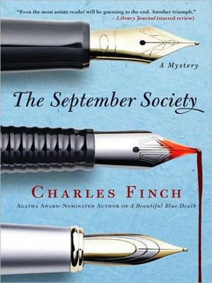 cover image of The September Society