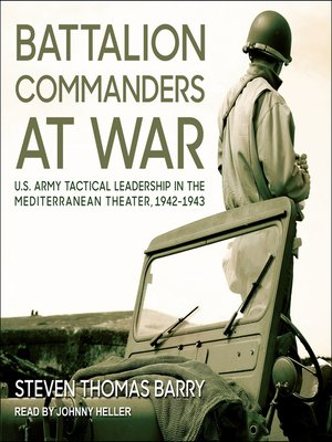 cover image of Battalion Commanders at War