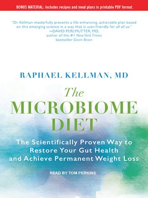 cover image of The Microbiome Diet