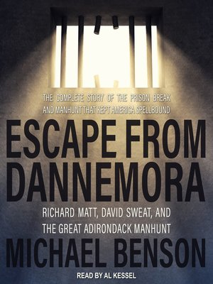 cover image of Escape from Dannemora