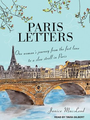 cover image of Paris Letters
