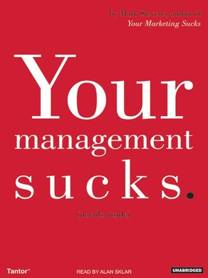 cover image of Your Management Sucks