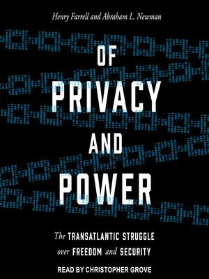 cover image of Of Privacy and Power