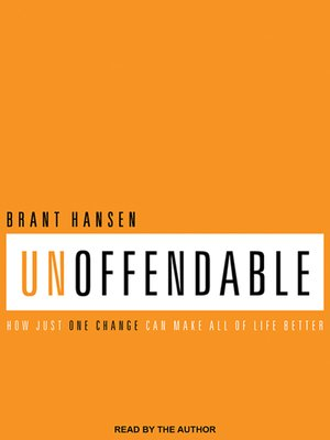 cover image of Unoffendable