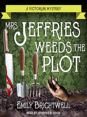 cover image of Mrs. Jeffries Weeds the Plot