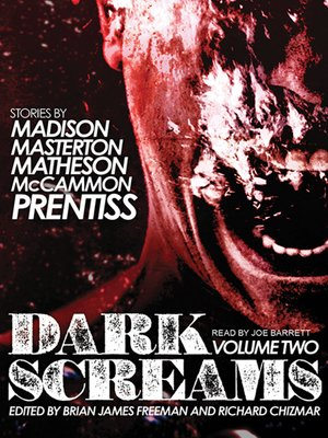 cover image of Dark Screams--Volume Two