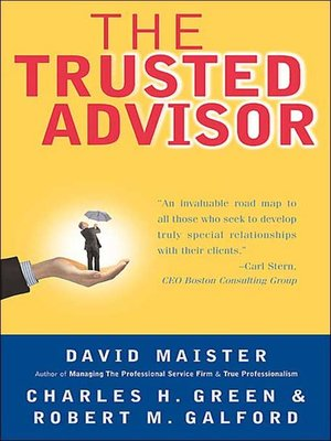 cover image of The Trusted Advisor