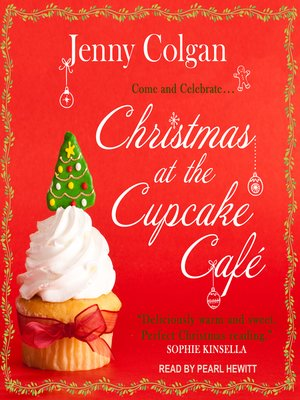 cover image of Christmas at the Cupcake Café