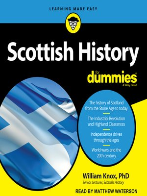 cover image of Scottish History for Dummies