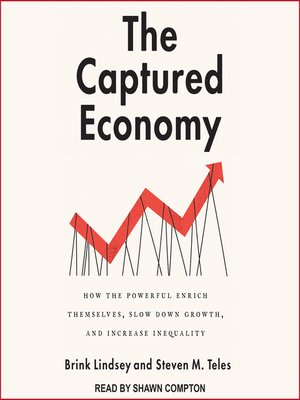 cover image of The Captured Economy