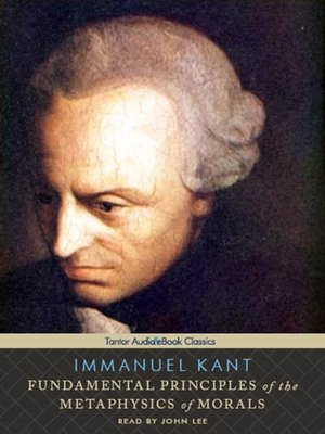 cover image of Fundamental Principles of the Metaphysics of Morals