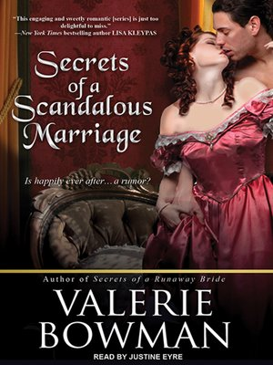 cover image of Secrets of a Scandalous Marriage