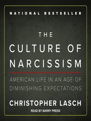 cover image of The Culture of Narcissism