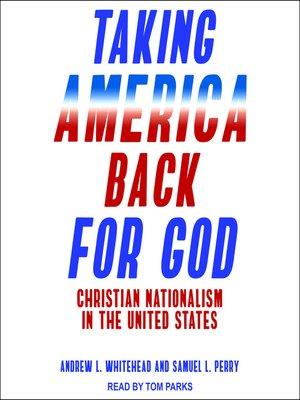 cover image of Taking America Back for God