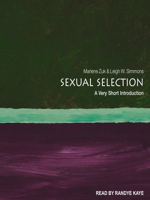cover image of Sexual Selection