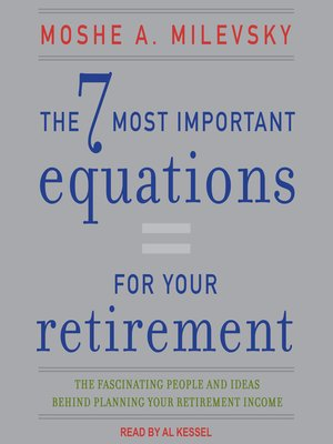 cover image of The 7 Most Important Equations for Your Retirement